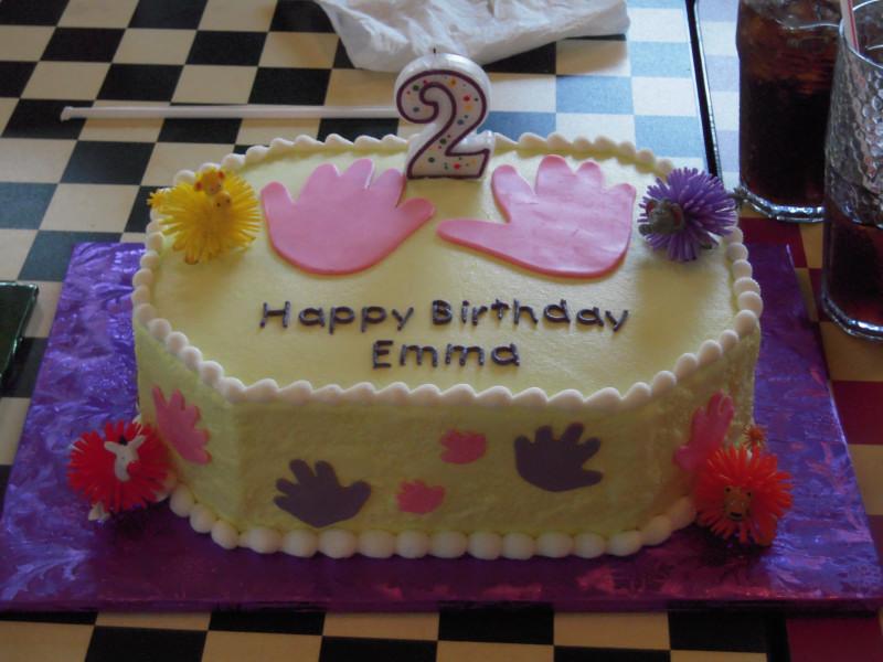 Emma's Cake - Koosh balls